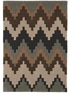 Teppich Wohnzimmer Orient Carpet skandinavisches Design MATRIX CUZZO RUG 100% Wolle 160x230 cm Rechteckig Braun   Teppiche günstig online kaufen  http://www.amazon.de/dp/B017RBASS8?m=A1R2EWUSWBGWY4&keywords=teppich+wohnzimmer