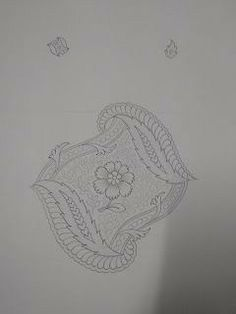 Embroidery Works, Embroidery Motifs, Applique Embroidery Designs, Handmade Embroidery Designs, Indian Embroidery Designs, Textile Pattern Design, Textile Patterns, Drawing Stencils, Computerized Embroidery Machine
