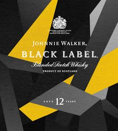 Johnnie Walker Black Label packaging Reimagined - The Dieline -