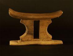 Ashanti Asante Stool #342 | Ashanti/Asante Stools | Stools / Chairs — Deco Art Africa - Decorative African Art