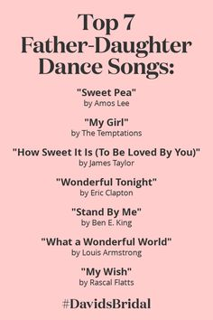 Top 20 Parent Dance Songs