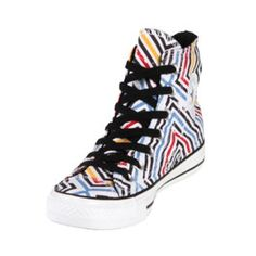 These Converse Chuck Taylor Abstract Print shoes are so much fun! They have an awesome print that will go great with a lot of different things! They are fun to look at and you will definitely get people complimenting you on them!