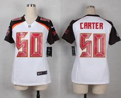89ad96305 ... NFL Jersey Women New Nike Tampa Bay Buccaneers 50 Bruce Carter white  game Jersey 24.5 Youth Nike Aaron Donald Anthracite Los Angeles Rams ...