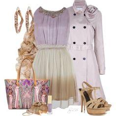 Lavender Party Dress