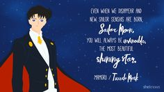 Sailor Moon quotes that will make you fall in love with it again: Tuxedo Mask