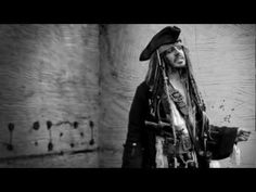 Jack Sparrow spoofs Brad Pitt's Chanel N°5 commercial