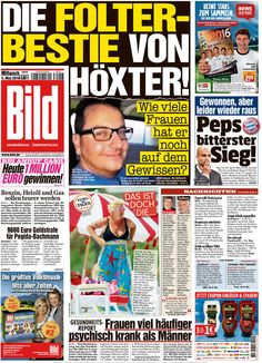 #20160504 #GERMANY #DEUTSCHLAND Wednesday MAY 04 2016 #GermanyTodayNEWSpapers20160504 http://en.kiosko.net/de/2016-05-04/ + #Bild20160504 http://www.newseum.org/todaysfrontpages/?tfp_show=80&tfp_page=10&tfp_id=GER_BILD