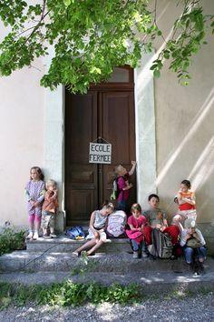 École de Sigottier. Photo de Pauline Danel. #buech