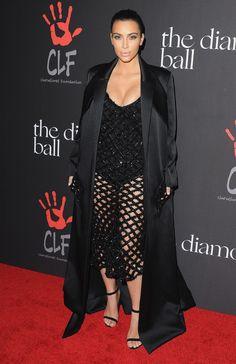 Kim Kardashian in Balenciaga by Alexander Wang