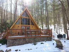 Are you looking for a mountain getaway that offers peace and tranquility, but is still close to all the action in the Smokies? Come stay a while at the Little Cove Cabin and find what you've been looking for! Tucked ...