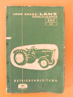 John Deere Lanz Diesel $45.00
