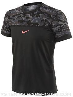 ad5993ab6e4a Nike Men s Fall Challenger Premier Rafa Night Crew (Black Camo)