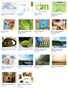 gallery of work by dm designs ~ specializing in custom paintings, murals, designs, photos & more!