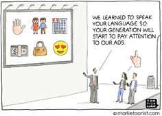 Generation Z, Millenial Marketing, Tom Fishburne, BrandCamp, Marketoonist Online Marketing Companies, Marketing Program, Affiliate Marketing, Internet Marketing, Inbound Marketing, Muji, Business Entrepreneur, Business Marketing, Content Marketing