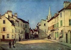 La Place, Argenteuil, 1872 Alfred Sisley