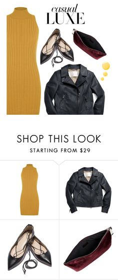 """Turtle Neck Mini Dress"" by tracey-mason ❤ liked on Polyvore featuring WearAll, Coach, Jil Sander and Topshop"