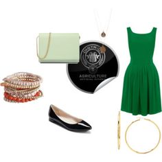 District Eleven OutFit- Hunger Games