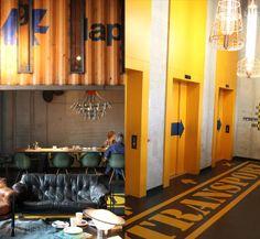 25hours hotel hafencity lobby hapag, Hamburg