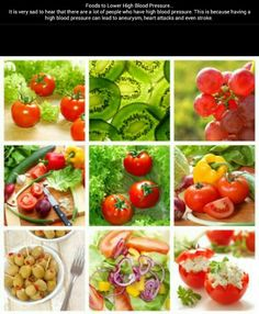 Foods to Lower High Blood Pressure