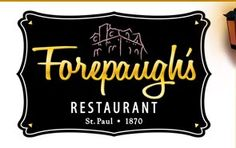 Forepaugh's Restaurant - one of Minnesota's haunted places. http://blogs.citypages.com/blotter/2010/10/minnesotas_most.php