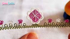 İğne Oyası Firkete Çiçek Modeli Yapımı Türkçe Videolu #moda #hobi #hobby #örgü #elişi #kadın #handmade Filet Crochet, Needlepoint, Embroidery, Flowers, Jewelry, Needle Lace, Silk, Jewlery, Jewerly