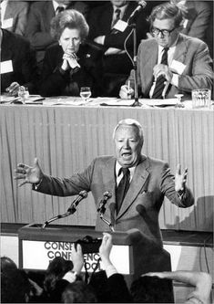 "Poster Print-Edward Heath Tory Conf 1983-16""x23"" Poster sized print made in the USA"