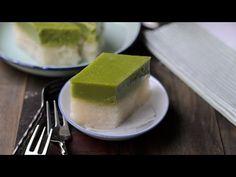 Pandan Custard-Glutinous Rice Layers/ Kuih Seri Muka - Lisa's Lemony Kitchen