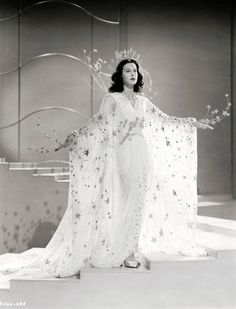 """Hedy Lamarr in """"Ziegfeld Girl"""" (1941)."""