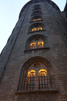 Rundetårn - The round tower - Copenhagen, Denmark.