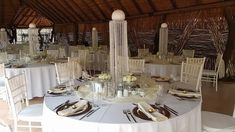 African Boma at Zambezi Point Open Up, Just In Case, Table Settings, African, Place Settings, Tablescapes