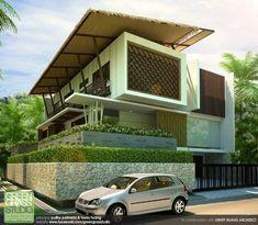Residential - F House by yudho patrianto at Coroflot.com