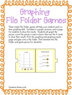 Graphing File Folder Games