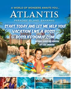 Whens the last time your boss gave you an ALL EXPENSE PAID VACATION? #bosslife. My company does. Message me -  http://www.Bosslifesignup.com