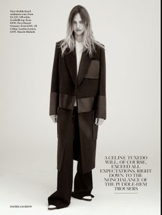 Sasha Pivovarova in 'A Cut Above' for Vogue UK July 2014 | The Front Row View