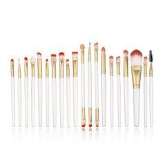 Professional Makeup Brushes Set Foundation Eyeshadow Eyeliner Lip Brush Tool