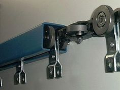 Your Low Cost Overhead Conveyor and Floor Conveyor Source - I-Beam Monorail Enclosed Track Components Systems Chain Trolleys Hooks Casters Replacement Parts Sliding Door Design, Sliding Gate, Sliding Barn Door Hardware, Conveyor System, Slider, Bois Diy, Folding Doors, Gate Design, Metal Fabrication