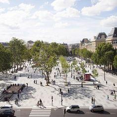 Place de la République becomes Paris' largest pedestrian square #Architecture