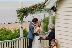 A Charming Seaside Wedding in Whitstable  | Photography by http://lmweddings.co.uk/