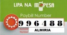 ALMIRIAtechstore MPESA PAYBILL kenya