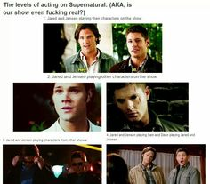 Acting on Supernatural… #4!!