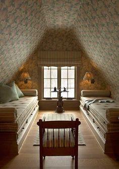 janetmillslove:   attic bedroom moment love