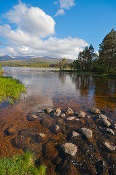Loch Morlich, Aviemore, Highland, Scotland
