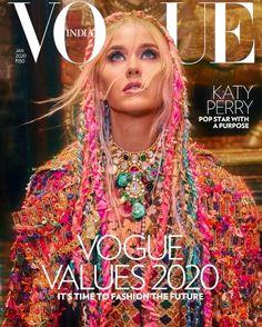 Vogue Covers, Vogue Magazine Covers, Fashion Magazine Cover, Fashion Cover, Vogue India, Orlando Bloom, Katy Perry Fotos, Stella Mccartney, Gal Got