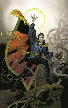 Dr. Strange by Kevin Nowlan #marvelcomics