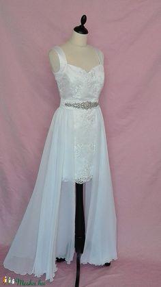 Két részes esküvői ruha (nicoledesign) - Meska.hu Prom Dresses, Formal Dresses, Keto, Fashion, Dresses For Formal, Moda, Formal Gowns, Fashion Styles, Formal Dress