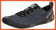 Merrell Women's Vapor Glove 2 Trail Running Shoe, Black/Castle Rock, 9 M US - Outdoor shoes for women (*Amazon Partner-Link)