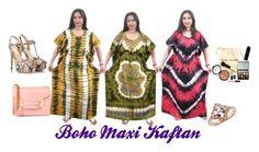 Boho Maxi Kaftan by mogul-interior on Polyvore featuring Semilla and Bobbi Brown Cosmetics
