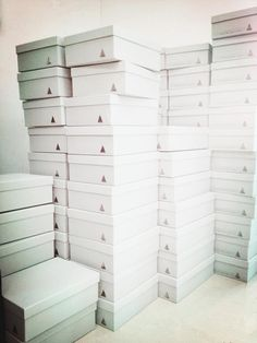 boxes ready to hit the world!