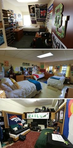 See what current Baylor dorm rooms look like -- great for getting ideas for your own dorm! (click for more pics)