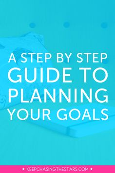 You can do a lot in a year, especially with the right goals and a plan to accomplish them. Click through and read this step by step guide to planning and breaking down your goal.
